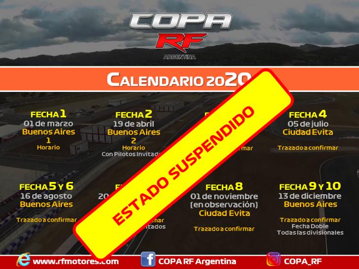 Banner Calendario 2020 CRF